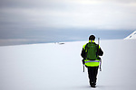 Svalbard guide Audun Gjerland, near Mushamna, Woodfjorden