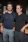 "Joshua Morrow and Christian LeBlanc  attends the book signing of "" The Young & Restless LIfe of William J Bell"" by Michael Maloney and Lee Phillip Bell  on June 21, 2012 at The Barnes & Nobles in The Grove in Los Angeles."