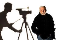 Central Piedmont Community College Professor George Cochran is the founder of CPCC's Film Program in Charlotte, North Carolina...Photo by: PatrickSchneiderPhoto.com