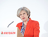 Conservative Spring Forum at Welsh Conference, Cardiff, Wales, Great Britain <br /> 17th March 2017 <br /> <br /> <br /> <br /> <br /> The Rt Hon Theresa May MP <br /> Prime Minister and Leader of the Conservatives <br /> <br />  <br /> <br /> Photograph by Elliott Franks <br /> Image licensed to Elliott Franks Photography Services