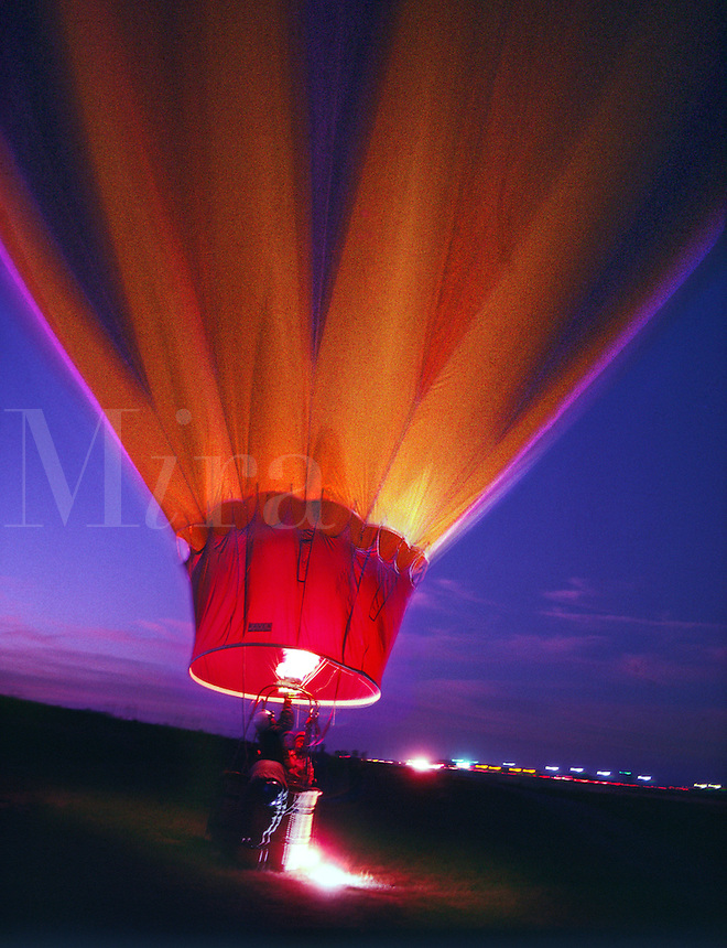 Balloons, Dawn Patrol, Albuquerque, New Mexico<br />