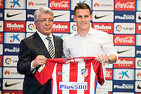 Atletico de Madrid Kevin Gameiro.