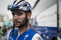 Fernando Gaviria's (COL/QuickStep Floors) post-race face<br /> <br /> 108th Milano - Sanremo 2017