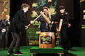 "Jan 20, 2011: Seth Rogen, Jay Chou, Michel Gondry attend ""Green Hornet"" Japan premiere at Roppongi Hills, Tokyo, Japan.  (Photo by Atsushi Tomura/AFLO) [1035]"