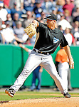 21 May 2007: Toronto Blue Jays pitcher Joe Wice in action against the Baltimore Orioles at Doubleday Field during Baseball's Annual Hall of Fame Game in Cooperstown, NY. The Orioles defeated the Blue Jays 13-7 in front of a sellout crowd of 9,791 at the historical ballpark...Mandatory Credit: Ed Wolfstein Photo