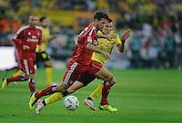 Fussball Bundesliga Saison 2011/2012 1. Spieltag Borussia Dortmund - Hamburger SV V.l.: Dennis DIEKMEIER (HSV), Kevin GROSSKREUTZ (BVB).