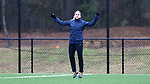 RALEIGH, NC - MARCH 13: McCall Zerboni. The North Carolina Courage held their first ever training session on March 13, 2017, at WRAL Soccer Center in Raleigh, NC to start their preseason before the 2017 NWSL Season. Prior to its offseason relocation the team was known as the Western New York Flash.