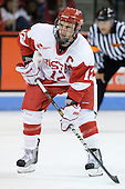 Chris Connolly (BU - 12) - The Boston University Terriers defeated the visiting University of Toronto Varsity Blues 9-3 on Saturday, October 2, 2010, at Agganis Arena in Boston, MA.