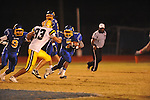 Oxford High's Jarquis Adams (7) runs vs. Hernando in Oxford, Miss. on Friday, October 14, 2011. Hernando won 31-30 in overtime.