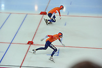 SPEED SKATING: HAMAR: Vikingskipet, 05-03-2017, ISU World Championship Allround, 10.000m Men, start, Sven Kramer (NED), ©Patrick Roest (NED), photo Martin de Jong