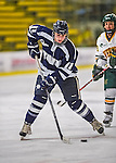 2 February 2013: University of New Hampshire Wildcat forward Kristine Horn, a Senior from Utica, MI, in action against the University of Vermont Catamounts at Gutterson Fieldhouse in Burlington, Vermont. The Lady Wildcats defeated the Lady Catamounts 4-2 in Hockey East play. Mandatory Credit: Ed Wolfstein Photo
