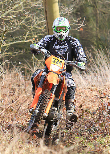 TBEC Trail Bike Enduro Club  Luton Hoo Estate  11th March 2012