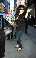 NEW YORK, NY-July 25: Ronnie Spector at SiriusXM in New York. NY July 25, 2016. Credit:RW/MediaPunch