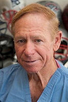 8/4/10 1:51:14 PM -- Boston , Massachusetts..Dr. Robert Cantu Portrait..Photo by Vernon Doucette  for Boston University Photography