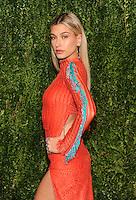 NEW YORK, NY - NOVEMBER 07: Hailey Baldwin attends 13th Annual CFDA/Vogue Fashion Fund Awards at Spring Studios on November 7, 2016 in New York City. Photo by John Palmer/ MediaPunch