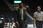 Ole Miss Lady Rebels vs. Mississippi Valley State haed coach Elvis Robinson at the C.M. &quot;Tad&quot; Smith Coliseum in Oxford, Miss. on Tuesday, November 27, 2012.