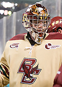 Parker Milner (BC - 35) - The Boston University Terriers defeated the Boston College Eagles 3-2 on Friday, January 8, 2010, at Fenway Park in Boston, Massachusetts, as part of the Sun Life Frozen Fenway doubleheader.