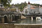 Bridge and River in Tomar, Portugal