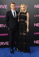 """NEW YORK, NY - July 12: Emma Roberts and Dave Franco  attends the World premiere of """"Nerve"""" at the SVA Theater on July 12, 2016 in New York City.Credit: John Palmer/MediaPunch"""