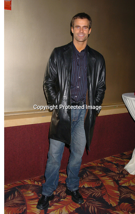 Cameron Mathison..at the All My Children Christmas party at the Copacabana  on December 17, 2003. Photo by Robin Platzer, Twin Images.