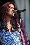 Joss Stone performing at the Austin City Limits Music Festival in Austin Texas on September 14, 2007.