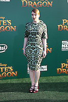 HOLLYWOOD, CA- AUGUST 8:  Bryce Dallas Howard at the Disney premiere of 'Pete's Dragon' at El Capitan Theater in Hollywood, California, on August 8, 2016. Credit: David Edwards/MediaPunch