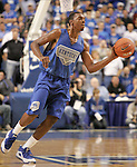 UK guard Darnell Dodson passes the ball during the second period of the Blue and White scrimmage at Rupp Arena Wednesday night..Photo by Zach Brake | Staff