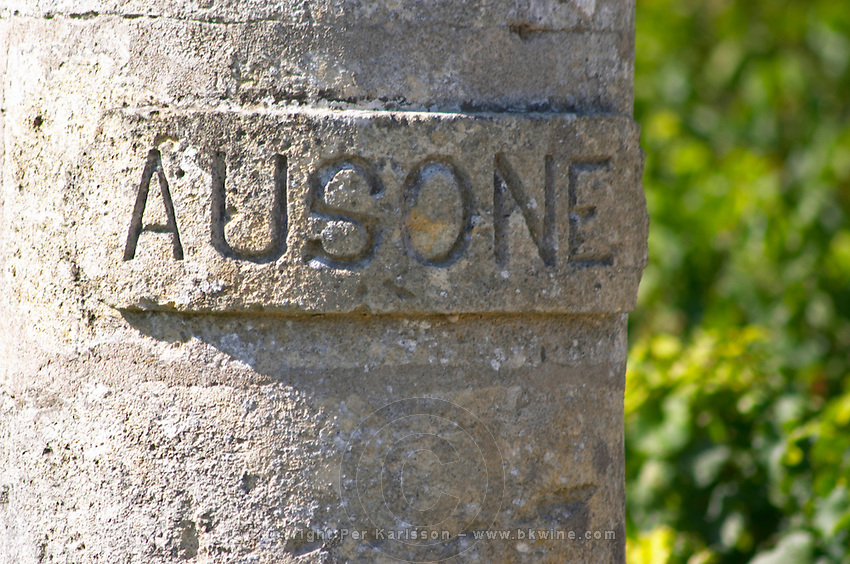 Chateau Ausone, Saint Emilion, Bordeax, France