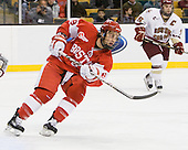 Ben Rosen (BU - 8) - The Boston College Eagles defeated the Boston University Terriers 3-2 (OT) in their Beanpot opener on Monday, February 7, 2011, at TD Garden in Boston, Massachusetts.