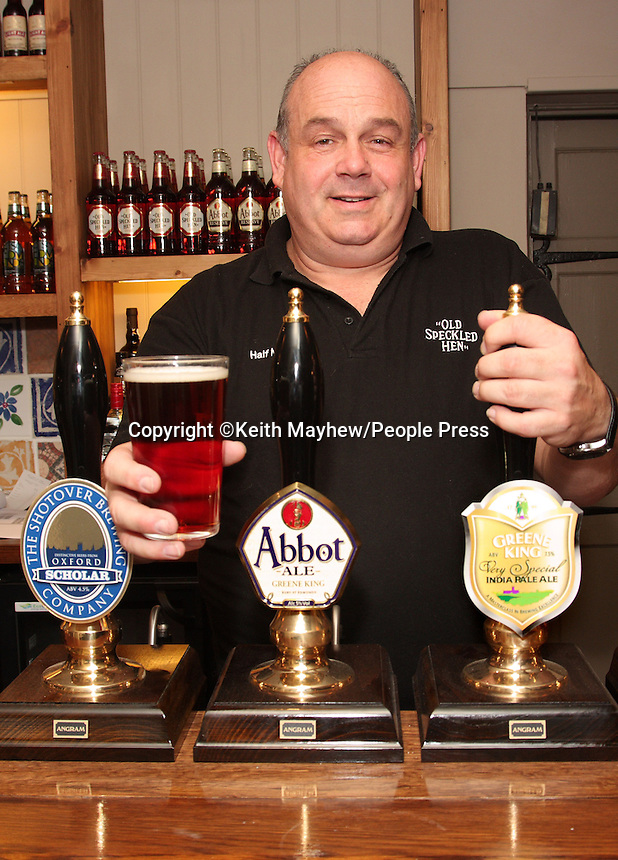 Oxford - James Street Tavern in Oxford re-opens after refurbishment. Brewers Greene King, Licensee Jamie Fisher and staff worked tirelessly to get the pub ready to open to the public on Friday August 19th after being closed for 6 months...Photo by Keith Mayhew.