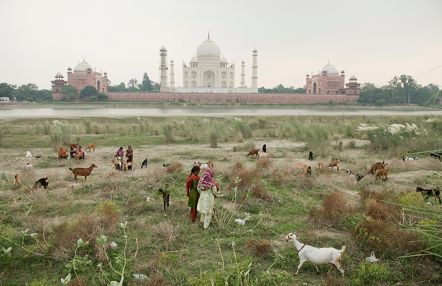 Taj Mahal, Agra, Northern India, India