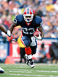 9 September 2007: Buffalo Bills running back Marshawn Lynch (23) in action against the Denver Broncos at Ralph Wilson Stadium in Buffalo, NY. The Broncos defeated the Bills 15-14 in the opening day matchup...Mandatory Photo Credit: Ed Wolfstein Photo