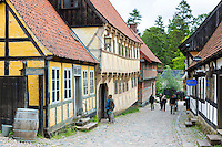 Den Gamle By, The Old Town, open-air folk museum of period buildings at Aarhus in East Jutland, Denmark