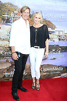 BEVERLY HILLS, CA - JULY 27: Jack Wagner, Josie Bissett at the Hallmark Channel and Hallmark Movies and Mysteries Summer 2016 TCA press tour event on July 27, 2016 in Beverly Hills, California. Credit: David Edwards/MediaPunch