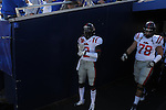 Ole Miss' Nickolas Brassell (2) vs. Kentucky at Commonwealth Stadium in Lexington, Ky. on Saturday, November 5, 2011. Kentucky won 30-13...