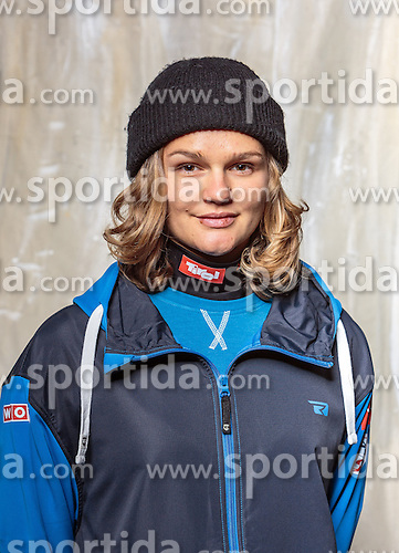 08.10.2016, Olympia Eisstadion, Innsbruck, AUT, OeSV Einkleidung Winterkollektion, Portraits 2016, im Bild Stefanie Mössler, Freestyle, Damen // during the Outfitting of the Ski Austria Winter Collection and official Portrait Photoshooting at the Olympia Eisstadion in Innsbruck, Austria on 2016/10/08. EXPA Pictures © 2016, PhotoCredit: EXPA/ JFK