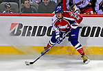 25 January 2009: Eastern Conference All-Star from the Washington Capitals, left wing forward Alex Ovechkin from Russia in action against the Western Conference All-Stars during the 2009 NHL All-Star Game at the Bell Centre in Montreal, Quebec, Canada. The Eastern Conference defeated the Western Conference 12-11 in a shootout. ***** Editorial Sales Only ***** Mandatory Photo Credit: Ed Wolfstein Photo