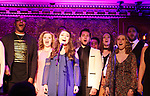 the Barnies headline Barn Theatre - A Celebration at Feinsteins/54 Below, New York City, New York on April 28. 2017. Barn Theatre is located in Augusta, Michigan.  (Photo by Sue Coflin/Max Photos)