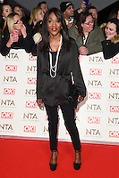 Dianne Parish at the National TV Awards 2017 held at the O2 Arena, Greenwich, London. <br /> 25th January  2017<br /> Picture: Steve Vas/Featureflash/SilverHub 0208 004 5359 sales@silverhubmedia.com