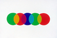 PRIMARY COLORS OF LIGHT<br /> Additive And Subtractive Colors<br /> Overlapping the additive primary colors of light (green, red &amp; blue) produce the subtractive primary colors of light (yellow, magenta &amp; cyan).