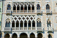 Palazzo Ca' d'Oro built in on the Grand Canal, Venice