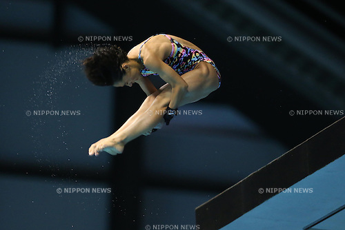 Minami Itahashi (JPN), SEPTEMBER 22, 2013 - Diving : All Japan Diving Championship 2013 Women's 10m Platform Final at Tatsumi International Swimming Pool, Tokyo, Japan.(Photo by AFLO SPORT) [1156]