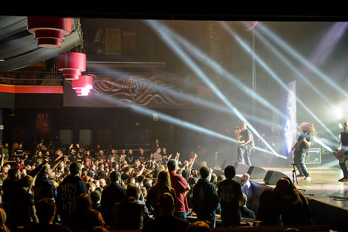 Meshuggah with High on Fire at The Pageant