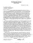 Hayward Correspondence 1928