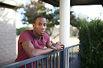 Former professional sprinter Carlin Isles, who has a personal best in the 100-meters of 10.13, has been dubbed 'The Fastest Man in Rugby'. Portrait of Carlin Isles of the United States National Rugby Sevens Team at his home in Round Rock, Texas. December 21, 2012. CREDIT: Lance Rosenfield/Prime