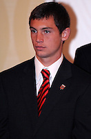 DC United forward Blake Brettschneider, at the 2011 Season Kick off Luncheon, at the Marriott Hotel in Washington DC, Wednesday March 16 2011.