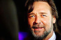 SYDNEY, AUSTRALIA - SEPTEMBER 15:  Actor Russell Crowe arrives at the opening of 'The Star', formerly Star City in Pyrmont on September 15, 2011 in Sydney, Australia. The entertainment venue underwent a AUD860 million dollar renovation and expansion with 20 new bars and restaurants and new luxury retail stores.(AAP Image/Marianna Massey) NO ARCHIVING  (Photo by Marianna Massey/Marianna Massey)