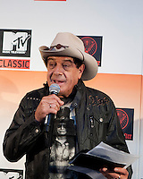 "Ian ""Molly"" Meldrum at the media call for the MTV Classic launch at Maze Restaurant, Crown Metropole, Melbourne, 27 April 2010"