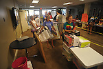 Students began moving into Stockard-Martin Dorm at the University of Mississippi in Oxford, Miss. on Friday, August 19, 2011. Classes begin on Monday, August 22, 2011.
