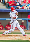13 March 2016: Washington Nationals outfielder Michael Taylor in action during a pre-season Spring Training game against the St. Louis Cardinals at Space Coast Stadium in Viera, Florida. The teams played to a 4-4 draw in Grapefruit League play. Mandatory Credit: Ed Wolfstein Photo *** RAW (NEF) Image File Available ***